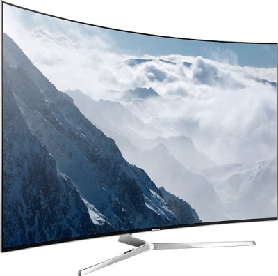 Samsung 138cm (55) Ultra HD (4K) Smart, Curved LED TV(UA55KS9000KLXL, 4 x HDMI, 3 x USB) at flipkart