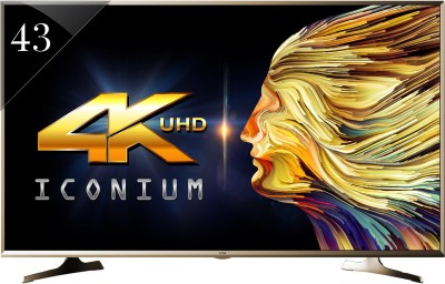 Vu 109cm (43) Ultra HD (4K) Smart LED TV (43S6535, 3 x HDMI, 3 x USB)