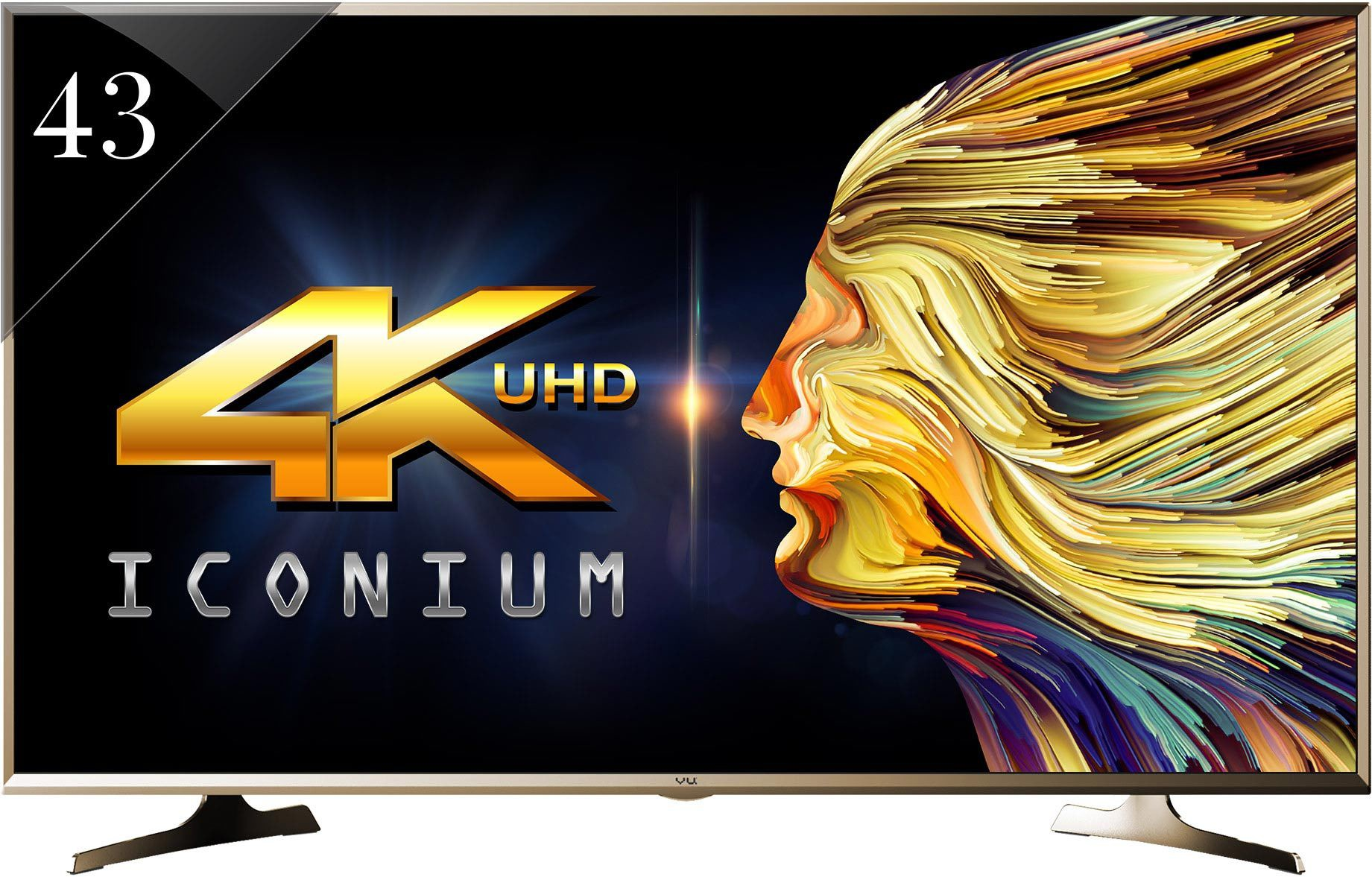 View Vu 109cm (43) Ultra HD (4K) Smart LED TV Price Online(Vu)