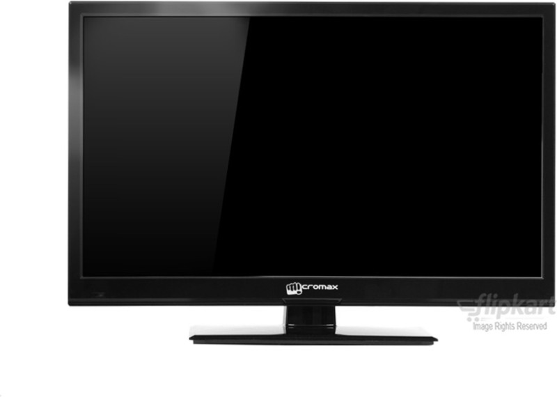 Micromax 61cm (24) HD Ready LED TV(24B200HD, 1 x HDMI, 1 x USB)