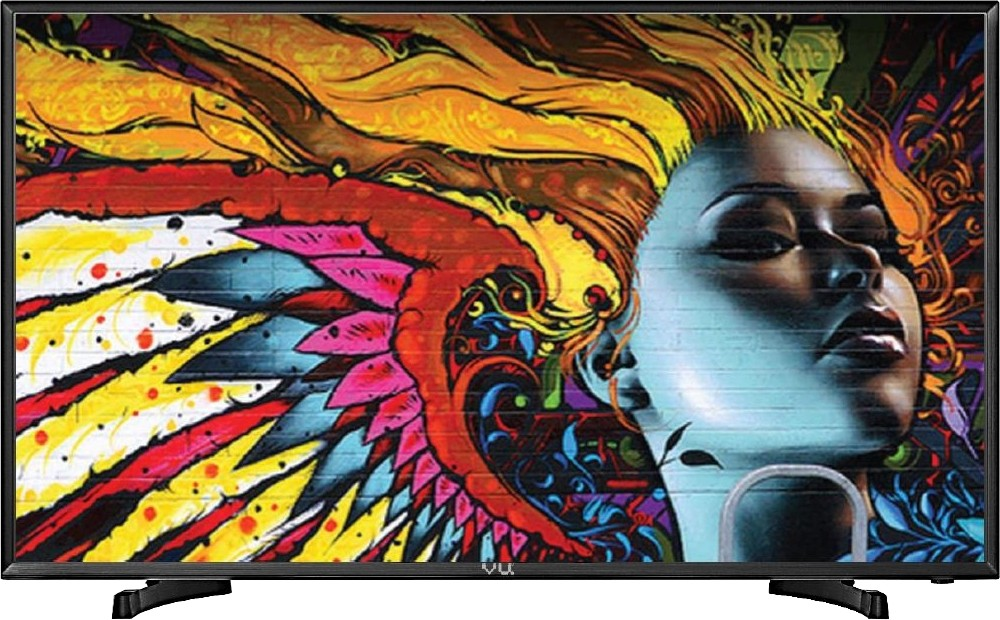 Vu 124cm (49) Full HD LED TV(49D6575, 2 x HDMI, 2 x USB)