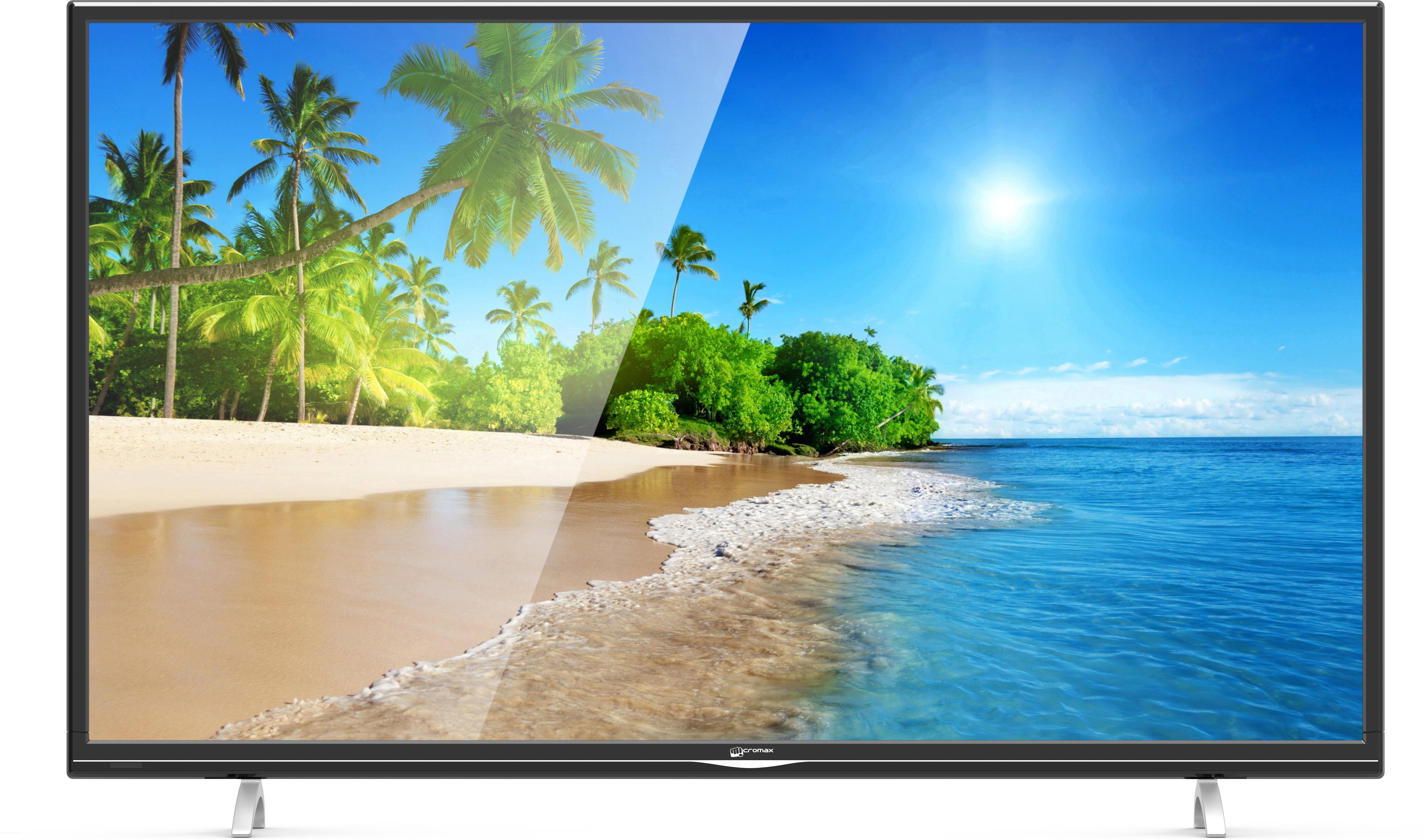 View Micromax 109cm (43) Full HD LED TV(43T8100MHD/43T4500MHD/43T6950MHD/43T7200MHD, 2 x HDMI, 2 x USB) Price Online(Micromax)