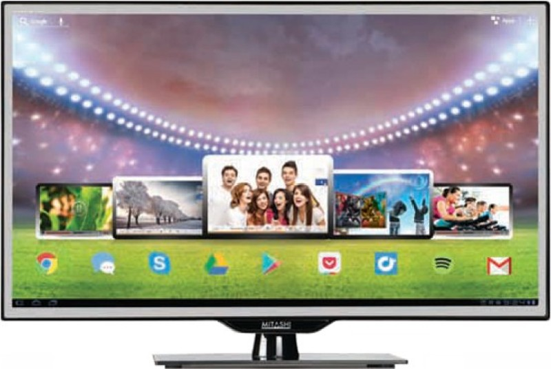 Mitashi 100.33cm (39.5) Full HD Smart LED TV(MiDE040v01, 3 x HDMI, 3 x USB)