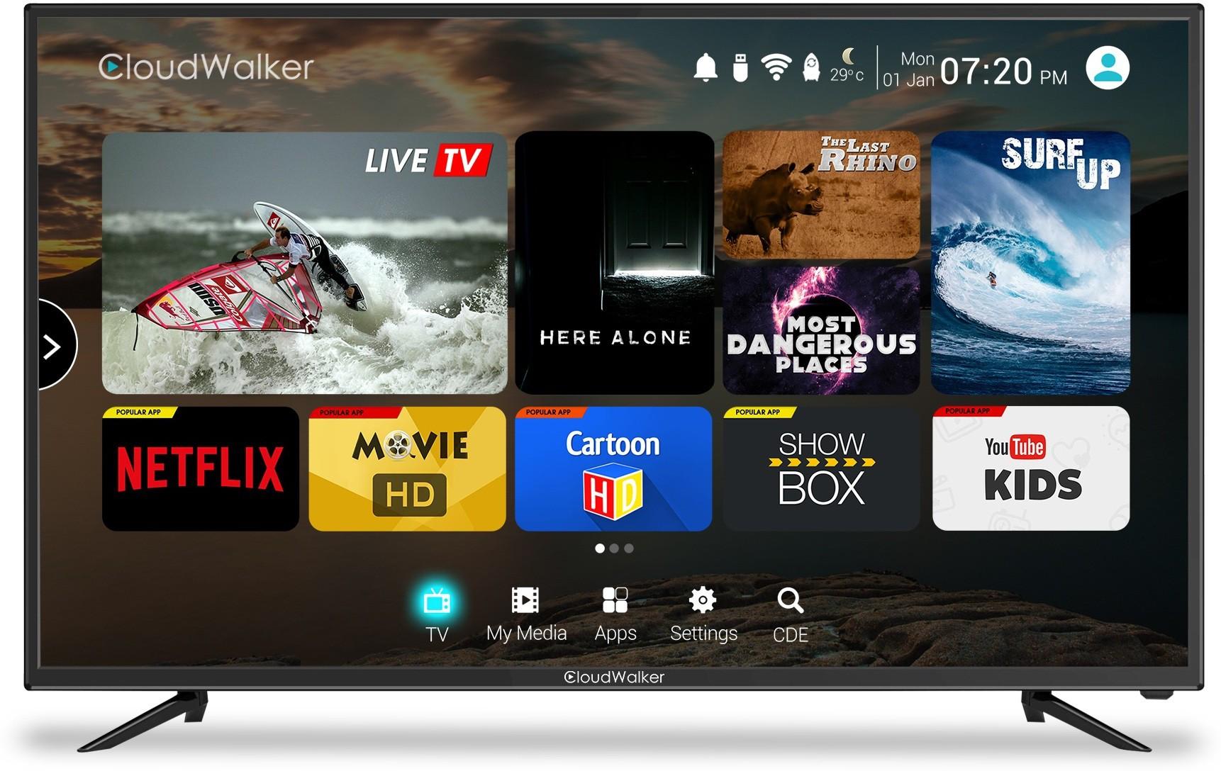 CLOUDWALKER 43SF 43 Inches Full HD LED TV
