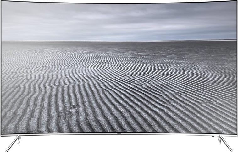 View Samsung 123cm (49) Ultra HD (4K) Smart, Curved LED TV(49KS7500, 4 x HDMI, 3 x USB) Price Online(Samsung)