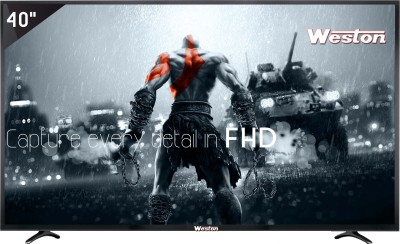 Weston 101cm (40) Full HD LED TV(WEL-4000, 2 x HDMI, 2 x USB) at flipkart