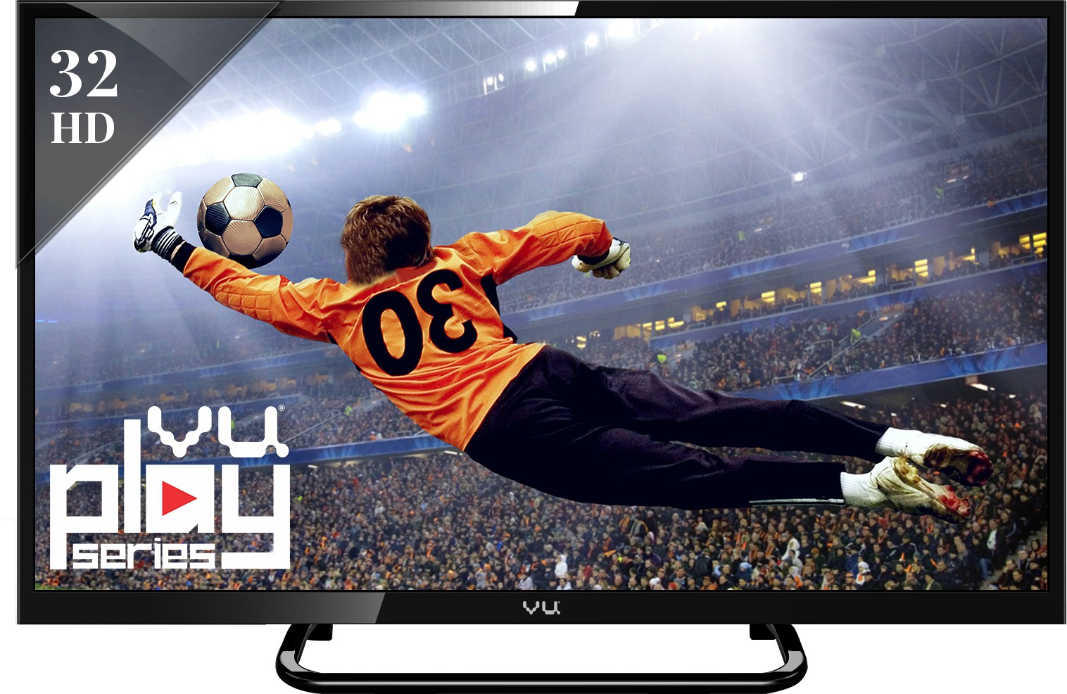 View Vu 80cm (32) HD Ready Smart LED TV Price Online(Vu)