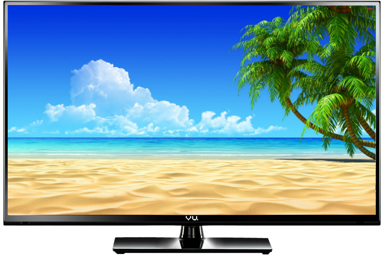 View Vu 138cm (55) Full HD 3D, Smart LED TV Price Online(Vu)