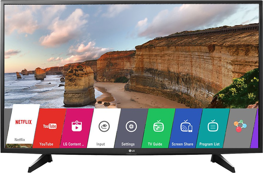 View LG 123cm (49) Full HD Smart LED TV(49LH576T, 2 x HDMI, 1 x USB)  Price Online