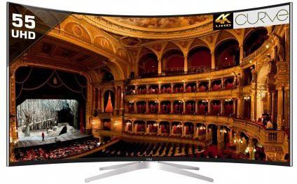 View Vu 139cm (55) Ultra HD (4K) Smart, Curved LED TV(TL55C1CUS, 3 x HDMI, 2 x USB) Price Online(Vu)