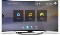 CloudWalker 139cm (55) Ultra HD (4K) Smart Curved LED TV(CLOUD TV 55SU-C 3 x HDMI 2 x USB)