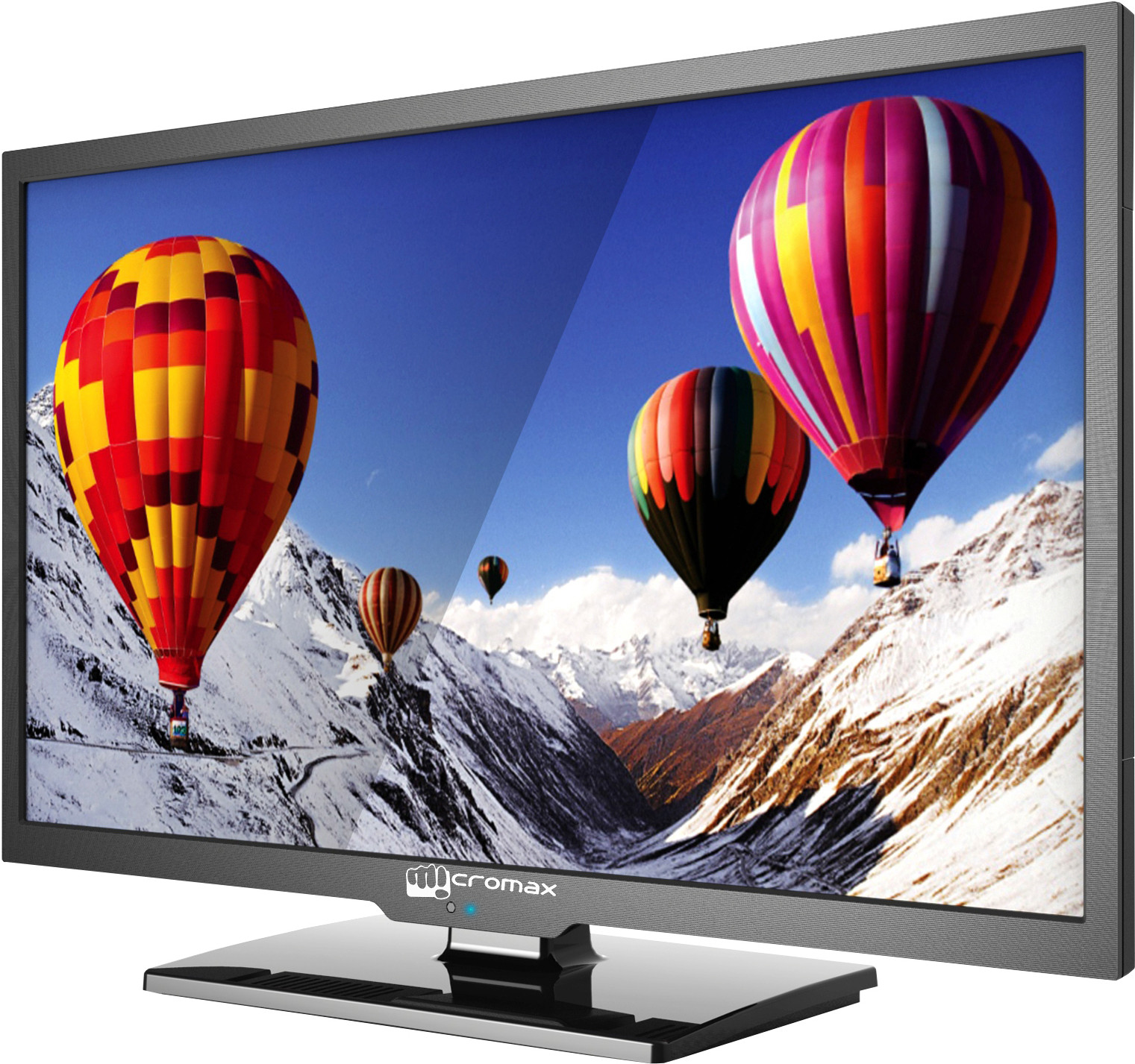 Micromax 60cm (24) HD Ready LED TV(24B600HD, 1 x HDMI, 1 x USB)