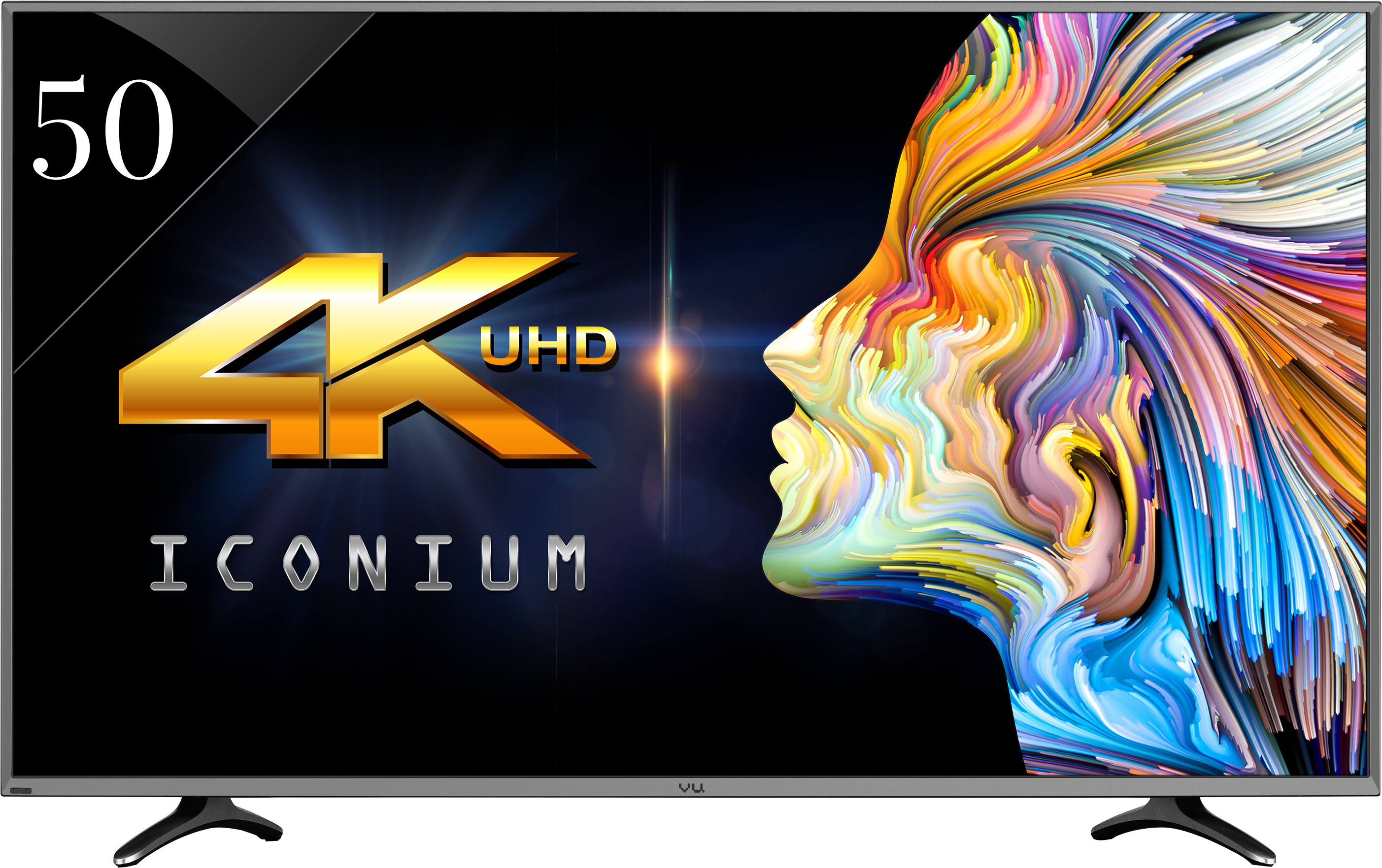 View Vu 127cm (50) Ultra HD (4K) Smart LED TV Price Online(Vu)