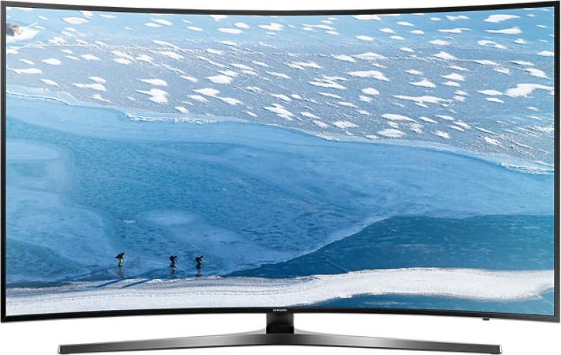 SAMSUNG 138cm (55) Ultra HD (4K) Smart, Curved LED TV(55KU6570,...