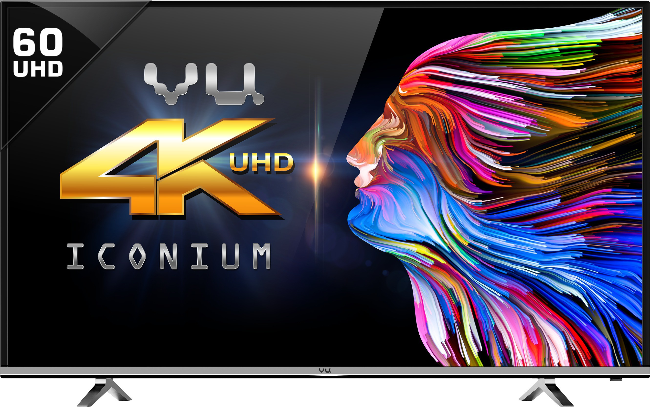 VU T60D1680 60 Inches Ultra HD LED TV