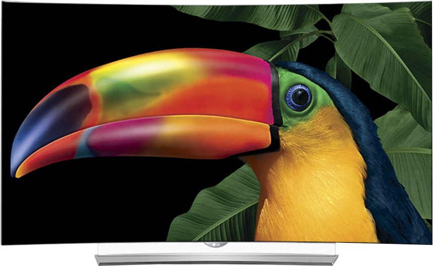 View LG 138cm (55) Ultra HD (4K) 3D, Smart, Curved OLED TV Price Online(LG)