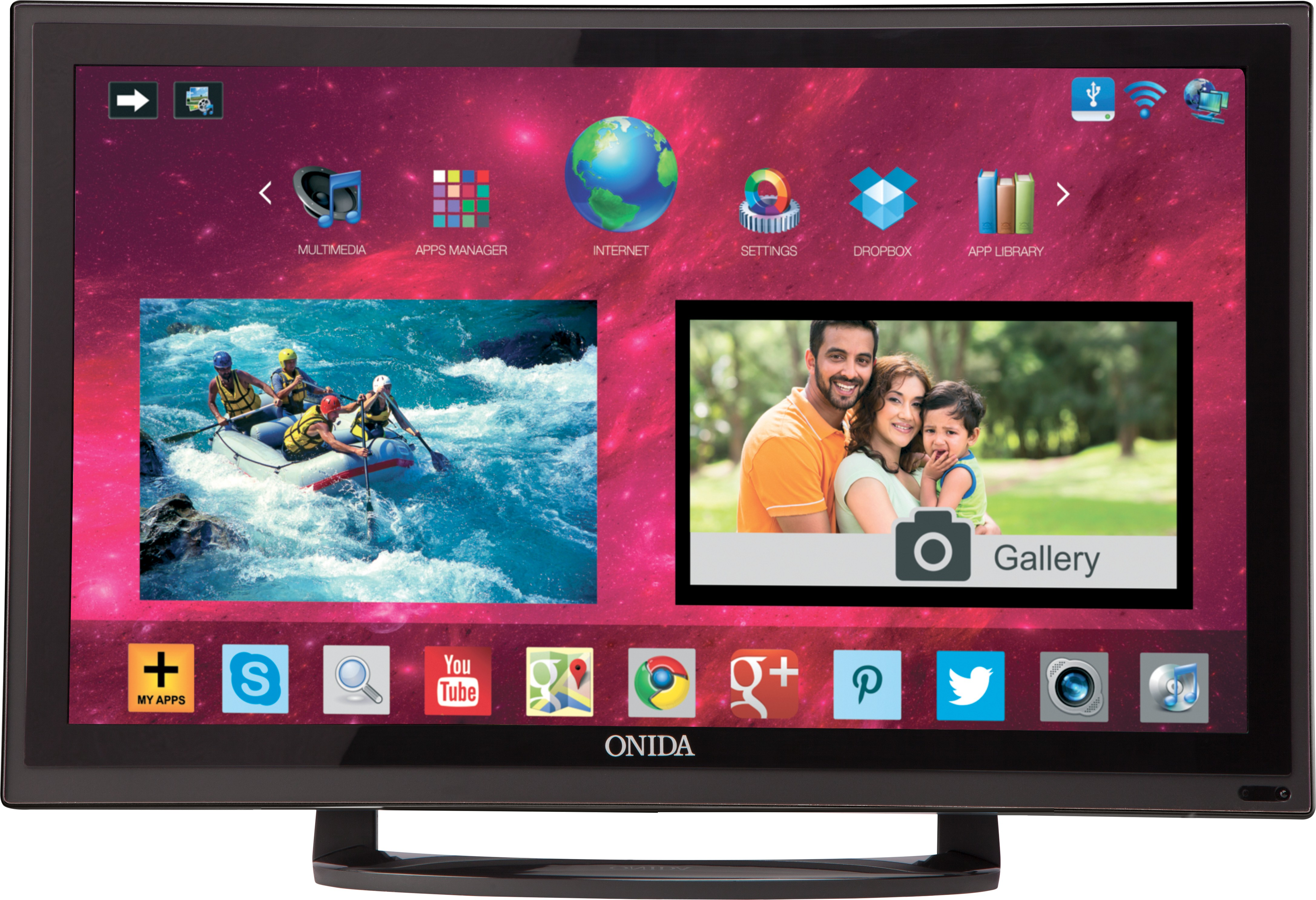ONIDA LEO24HAIN 24 Inches HD Ready LED TV