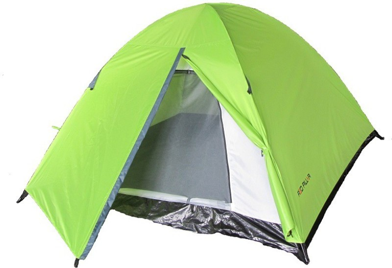Red Pillar ARANYA 4 Tent - For 4 Persons(Green, Grey)