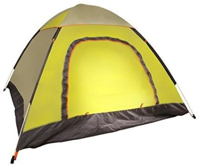 Divine Bovine FULLY AUTOMATIC QUICK SETUP All Season Camping Tent - For 3-4 Person
