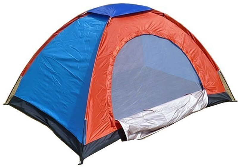 Ezzi Deals ED-campaigntnt Tent - For 4 Persons(Multicolor)