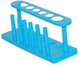 mLabs B01FQG0DFO Polypropylene Test Tube Rack(6 Blue)