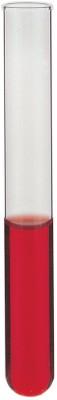 Saicor 27 ml Rimmed Borosilicate Glass Test Tube