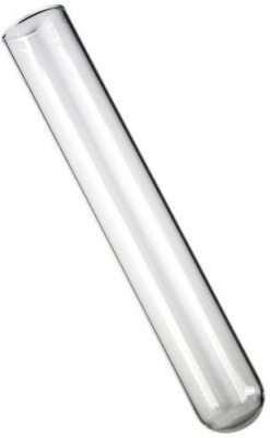 MiCare 7 ml Plain Glass Test Tube(75 cm 313.15 K Pack of 100)