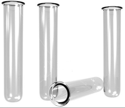 Saicor 55 ml Rimmed Borosilicate Glass Test Tube