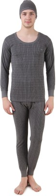 HAP Kings Quilted Thermal Mens Top - Pyjama Set