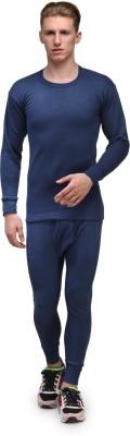 Alfa Lava Thermal Round Neck Men's Top - Pyjama Set