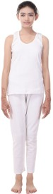 Bee Oswal Bee Oswal Thermals Women's Top - Pyjama Set