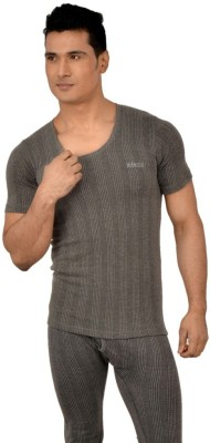 Lux Inferno Charcoal Half Sleeve Men's Top
