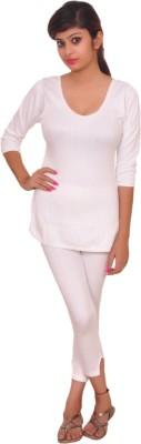 ZOTIC Quilted Womens Top - Pyjama Set
