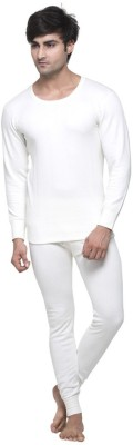 Splash Cmb-173-174-Cream Men's Top - Pyjama Set