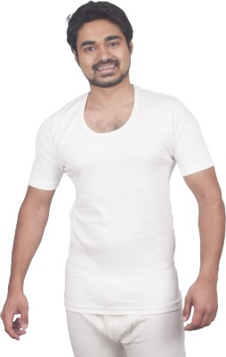 Warmzone Cotton - Round Neck Half Sleeves Vest Men's Top