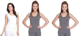 Jiyana Glitter and Divine Thermals Pack of 3 Women's Top
