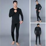Alfa Thermal Men's Top - Pyjama Set