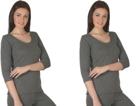 Jiyana Divine Thermals Pack of 2 Women's Top