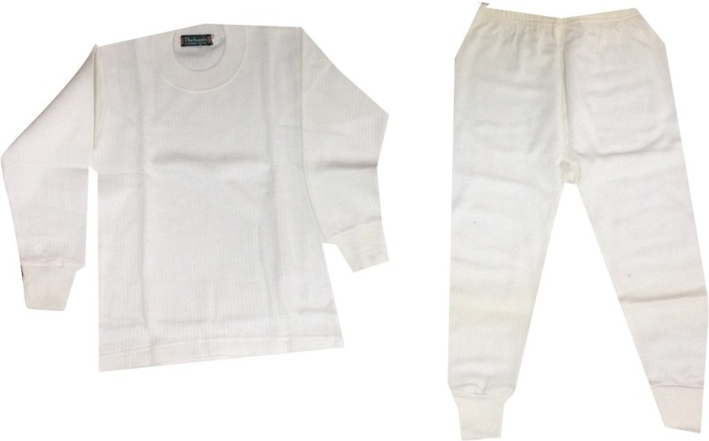 Rajindras Top - Pyjama Set For Boys(White)