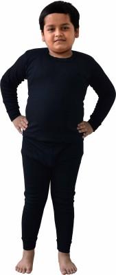 King Oswal Thermal Inner for Kids Boy's Top - Pyjama Set