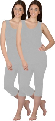 Selfcare New Combination Of Colours Womens Top - Pyjama Set