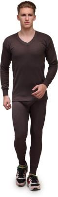Alfa Lava Thermal V Neck Men's Top - Pyjama Set