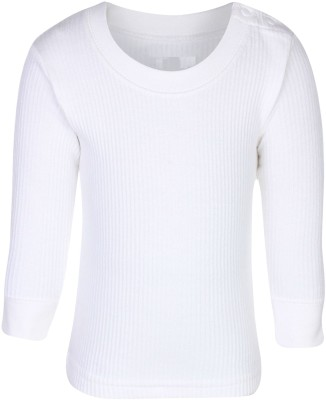 NammaBaby Top For Boys(White)