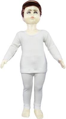 Selfcare Top - Pyjama Set For Boys(White)