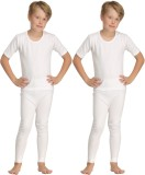 Kanvin Top - Pyjama Set For Boys (White)