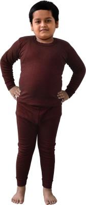 King Oswal Thermal Inner For Kids Baby Boy's Top - Pyjama Set