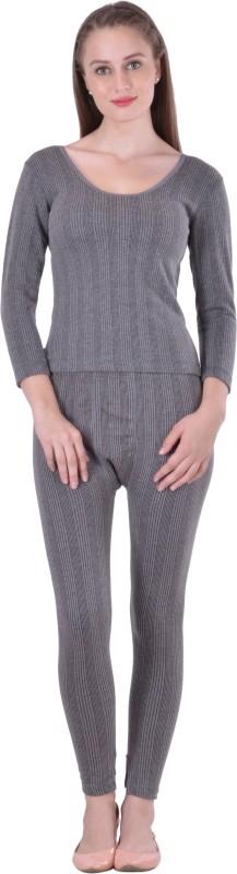 Lux Inferno Round Neck Short Top & Trouser Set Women's Top - Pyjama Set