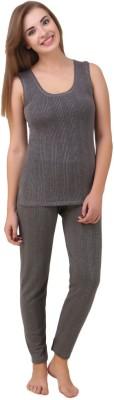 HAP Kings Quilted Thermal Womens Top - Pyjama Set