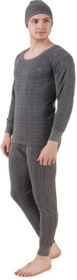 Hap Kings Quilted Thermal Mens Top - Pyj...