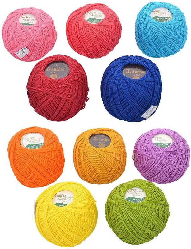 Vardhman multicolor Thread(250 m Pack of10)